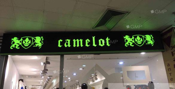 Вывеска для магазина Камелот