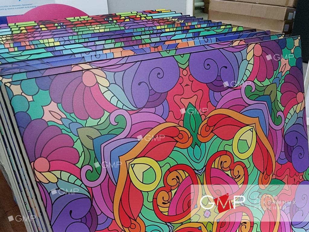 УФ печать на оргстекле и акриле в Москве и Московской области