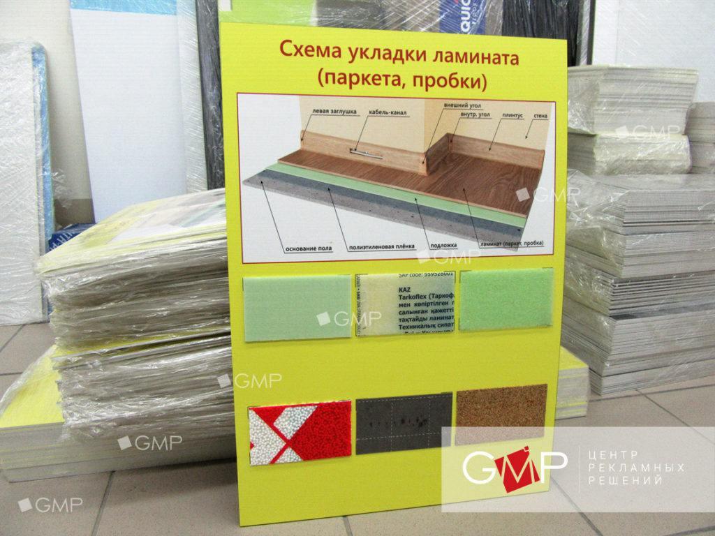 Информационный стенд на заказ в Москве