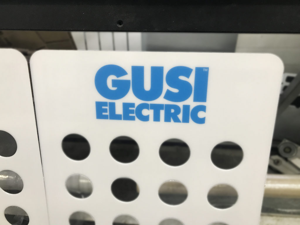 """Демонстрационные стенды для компании """"Gusi electric"""""""
